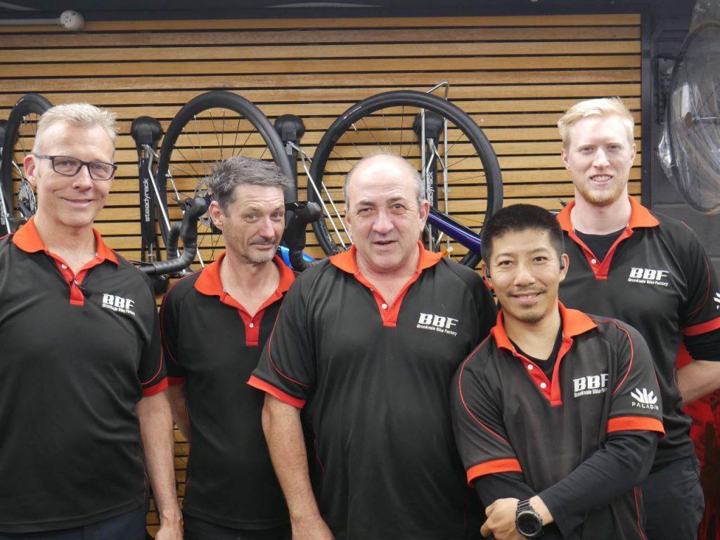 BBF Staff Team Smiling