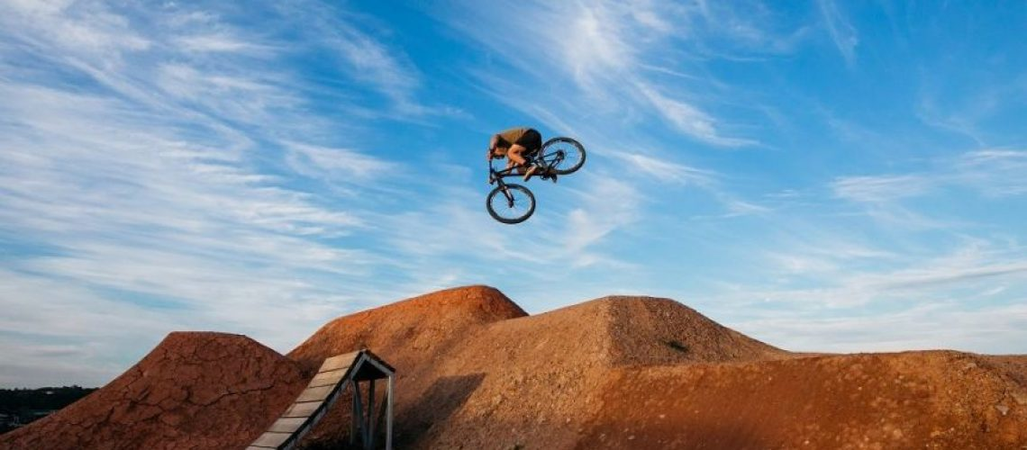 Bare Creek Bike Park Jump